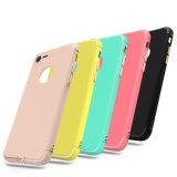 2017 caisses de galvanoplastie mates tendantes de téléphone de couleur de sucrerie pour l'iPhone
