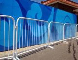 La construcción escamoteable esgrima temporal/PVC barrera de control de multitudes