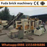 Machine de moulage de verrouillage concrète automatique de brique du Cambodge