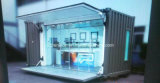 Barra de café móvel simples portátil/casa pré-fabricadas do baixo pagamento/Prefab na rua