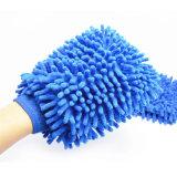 Оптовая перчатка синеля перчатки мытья Microfiber