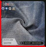 Sateen хлопок джинсы ткань 6.4oz темного цвета