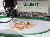 Nueva máquina automatizada del bordado de la condición sola pista para el casquillo, camiseta, plano, cequi, precios Cording del bordado