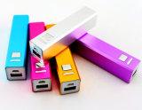Аккумуляторная батарея для индивидуального логотипа дешевые 2600Мач питание банка в смартфоны или сотовый телефон