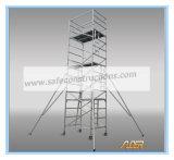 安全なセリウムの装飾のための公認の移動式アルミニウム足場タワー