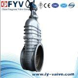 Válvula de porta de alta pressão da placa lisa