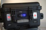 Sistema de iluminação Gy-072 móvel portátil (bateria de lítio)