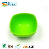 De in het groot Vrije Dienende Kom van het Voedsel van de Salade van de Vorm van het Silicone BPA Vierkante