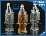 bottiglia floreale creativa della bevanda del vaso 500ml che desidera bottiglia di vetro