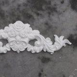 Le polyuréthane de décor d'ornements Appliques les centres floraux avec les onlays Hn-S060 de lame de défilement
