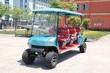 L'OEM della Cina personalizza il carrello di golf elettrico delle 6 sedi con Ce