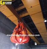 電子油圧オレンジの皮のガーベージのグラブのバケツは発電所を使用した