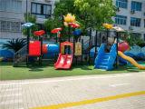 Apparatuur van de Speelplaats van het Pretpark de Openlucht (YL24482)