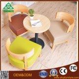 Centro de design de madeira Mesa de café moderna em madeira