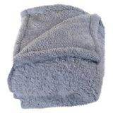2 Schicht Sherpa Vlies-Zudecke-/Micro-weiche Bett-Verbreitung