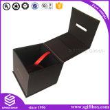 Le luxe de l'emballage en carton de papier magnétique personnalisée boîte cadeau