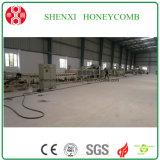 Máquina del panal de la capa doble de Wuxi que lamina Shenxi