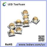 55deg 광속 각을%s 가진 UV LED 395nm 3W