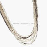Кристалл отбортовывает ожерелья Tassel шарма для ювелирных изделий женщин