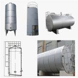屋外の大きいステンレス鋼タンク