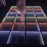 La barre interactive de vente Satge DEL légère Dance Floor de disco de 3D chaude la plus neuve Mirrow