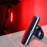 6 modes de rafles conduit feux arrière LED USB d'avertissement de la lumière de vélo