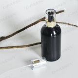 Черная алюминиевая бутылка брызга для косметический упаковывать эфирного масла (PPC-ACB-039)
