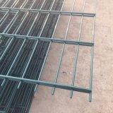 La polvere di Interpon ha ricoperto tutto il colori doppio recinto di filo metallico di 2500mm x di 2230mm