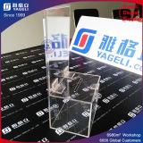 Urne acrylique faite sur commande de donation d'usine
