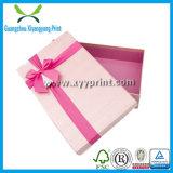 Paquete de papel de lujo de la caja de regalo de la boda