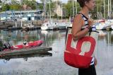 Zigzag Sail sac de plage de tissu recyclé bacs à voile