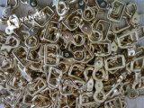 固体真鍮の馬具の旋回装置のアイボルトのスナップのホック
