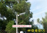 LEIDENE van gelijkstroom 12V 6W Geïntegreerder ZonneLichten voor in openlucht met Sensor