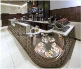 販売のためのプレハブのキオスクのガラス繊維のファースト・フードのキオスクの喫茶店のキオスク