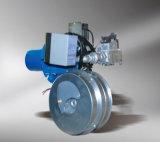 Mini bruciatore a gas in piccolo apparecchio di riscaldamento della famiglia o della caldaia