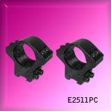 Suporte duplo de fuso duplo 25,4 mm Riflescope (E2511PC)