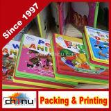 Eco 친절한 밝게 그려진 아이들 마분지 책 인쇄