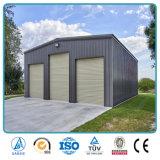 Coût de constructions préfabriqué d'atelier de structure métallique de bâti de l'espace