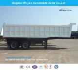 2개의 차축 덤프 세미트레일러 또는 반 덤프 팁 주는 사람 트럭 트레일러