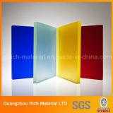 Bereiftes buntes Form-Acrylblatt-Plastikplexiglas-Blatt