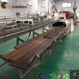 PP/PE/PVC de houten Plastic Machine van de Uitdrijving van /PVC van de Lopende band van het Profiel WPC