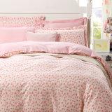 Nuevo diseño pequeño estilo floral país ropa de cama 100% algodón / poliéster para la escuela