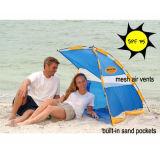 Портативное укрытие пляжа с карманн