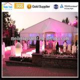 屋外の結婚式の屋根の上党アルミニウム玄関ひさしの大きいイベントのテント