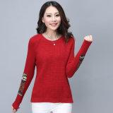 La última mujer invierno tejer suéteres