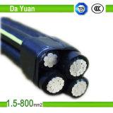 Самый лучший кабель ABC PVC качества изолированный XLPE
