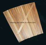 Palillos de madera de bambú con calidad fina