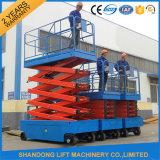 De gemotoriseerde Regelbare Lift van de Schaar met Uitgebreid Platform