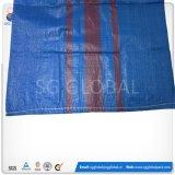 Sac tissé par 50kgpolypropylene de sac à sac tissé par pp d'OEM