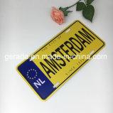 Piatto dell'automobile dei ricordi dell'Olanda Amsterdam